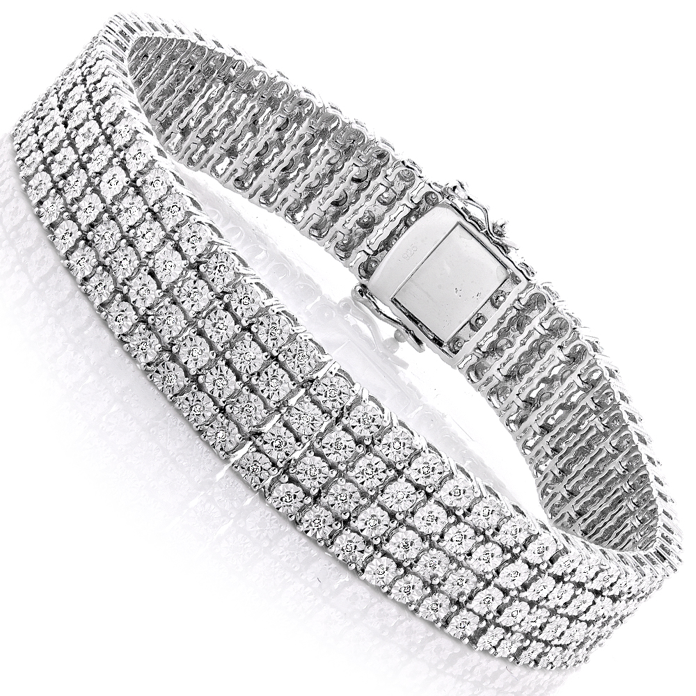 collections mikolay bracelet diamond bar bangle by bling desires bangles silver sterling products