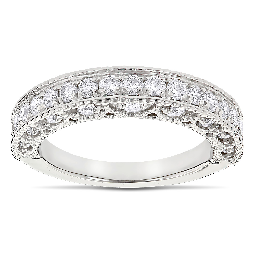 diamond band product jewelry milgrain millgrain designs wedding