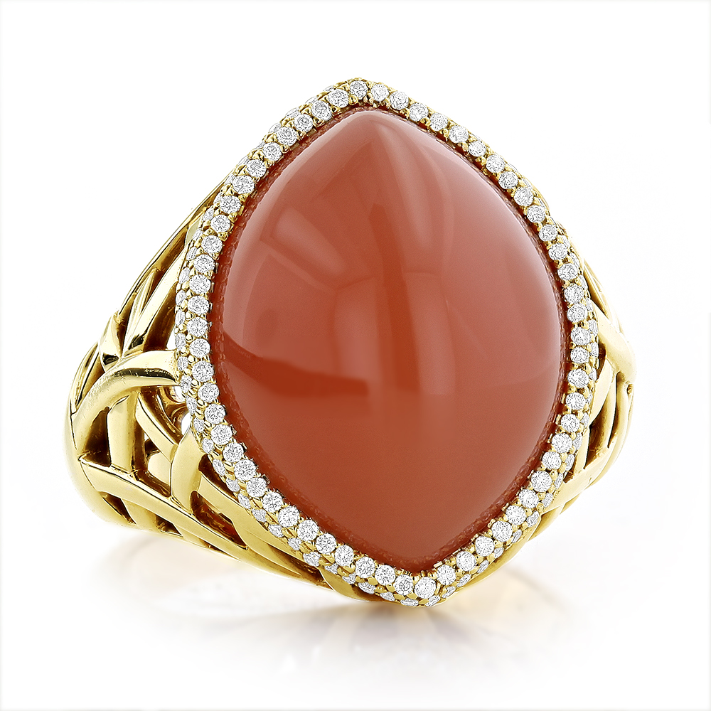 jewellery jewelry gold moonstone ring falak white gems