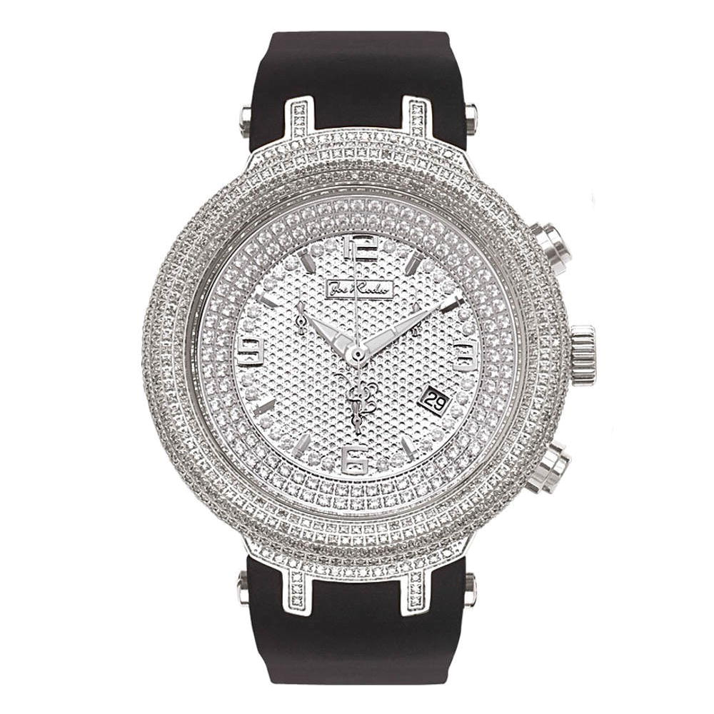 Pave Diamond Watch: Joe Rodeo Master 6.50ct Main Image