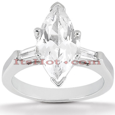 Platinum Diamond Engagement Ring 1.16ct Platinum Diamond Engagement Ring 1.16ct