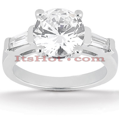 Platinum Diamond Engagement Ring 1.20ct Main Image