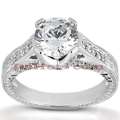 Platinum Diamond Engagement Ring 1.43ct Main Image