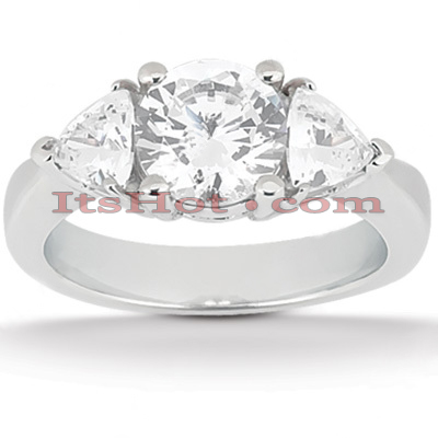 Platinum Diamond Engagement Ring 1.70ct Main Image