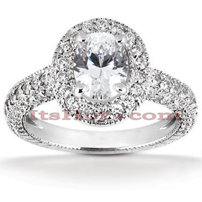 Platinum Diamond Engagement Ring 1.88ct Platinum Diamond Engagement Ring 1.88ct