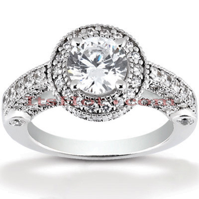 Platinum Diamond Engagement Ring 1.99ct Main Image