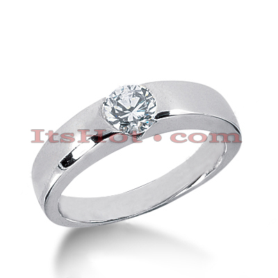 Platinum Diamond Engagement Ring 1ct Main Image