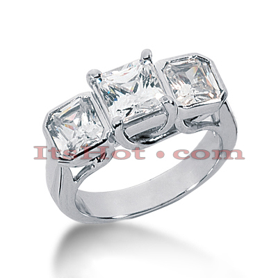Platinum Diamond Engagement Ring Mounting 2ct Platinum Diamond Engagement Ring Mounting 2ct