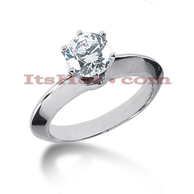 Platinum Diamond Engagement Ring Mounting Platinum Diamond Engagement Ring Mounting