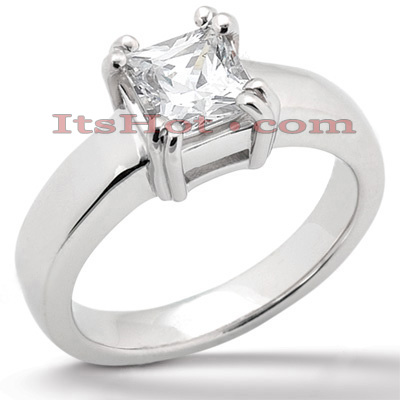 Platinum Diamond Engagement Ring Setting Platinum Diamond Engagement Ring Setting