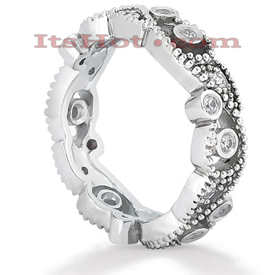 Platinum Diamond Eternity Band 0.36ct Main Image