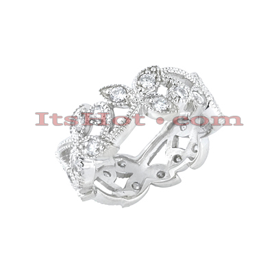 Platinum Diamond Eternity Band 0.48ct Main Image