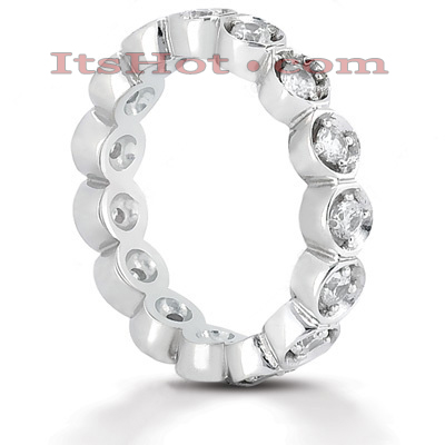 Platinum Diamond Eternity Band 0.60ct Main Image