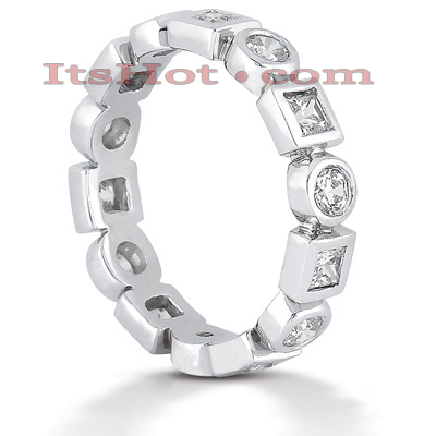 Platinum Diamond Eternity Band 1.12ct Main Image