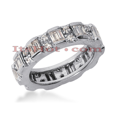Platinum Diamond Eternity Band 1.65ct Main Image
