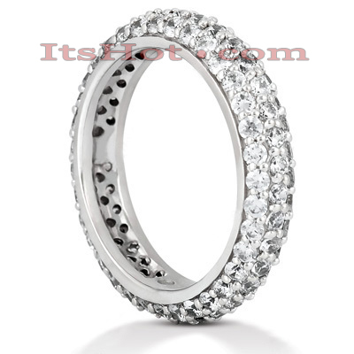 Platinum Diamond Eternity Band 1.70ct Main Image