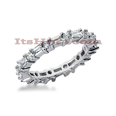 Platinum Diamond Eternity Band 1.90ct Main Image