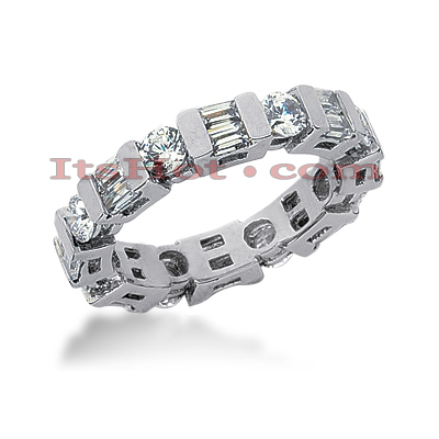 Platinum Diamond Eternity Band 2.32ct