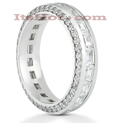 Platinum Diamond Eternity Band 2.50ct Main Image