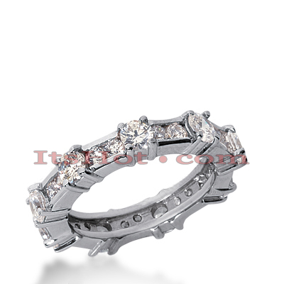 Platinum Diamond Eternity Ring 1.89ct Main Image