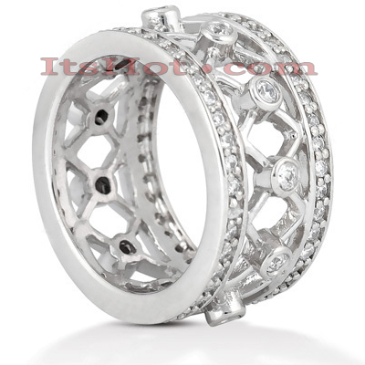 Platinum Diamond Eternity Ring 1ct Main Image