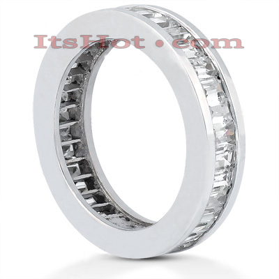 Platinum Diamond Eternity Ring 2.72ct Main Image