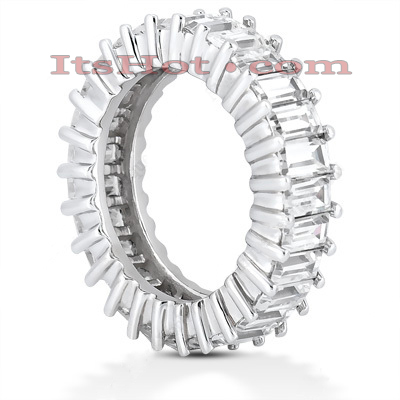 Platinum Diamond Eternity Ring 4.59ct Platinum Diamond Eternity Ring 4.59ct