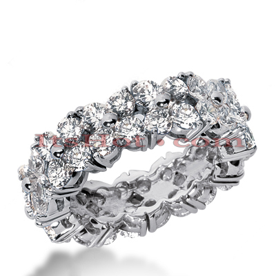 Platinum Diamond Eternity Ring 4.80ct