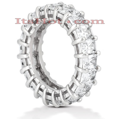 Platinum Diamond Eternity Ring 6.65ct Main Image