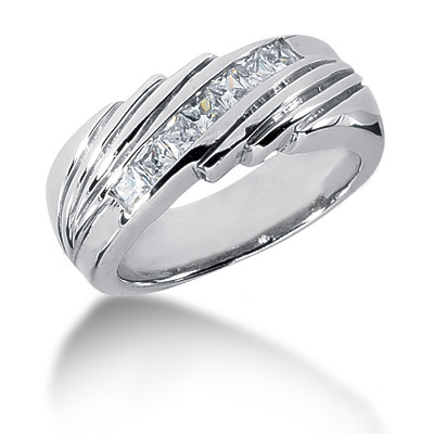 Platinum Ladies Diamond Ring 0.49ct Main Image