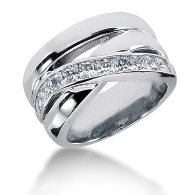 Platinum Ladies Diamond Ring 1.10ct Platinum Ladies Diamond Ring 1.10ct