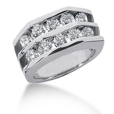 Platinum Ladies Diamond Ring 1.30ct Platinum Ladies Diamond Ring 1.30ct