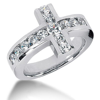 Platinum Ladies Diamond Ring 1.38ct Platinum Ladies Diamond Ring 1.38ct