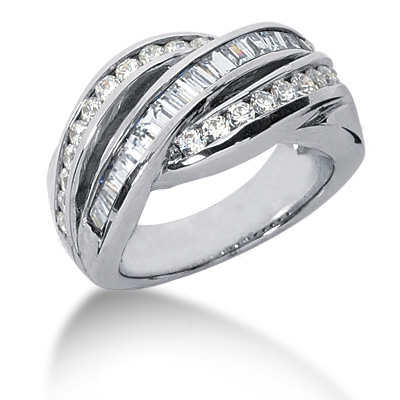 Platinum Ladies Diamond Ring 1.76ct Main Image