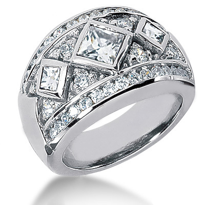 Platinum Ladies Diamond Ring 1.87ct Platinum Ladies Diamond Ring 1.87ct