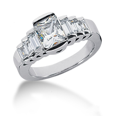 Platinum Ladies Diamond Ring 2.22ct Platinum Ladies Diamond Ring 2.22ct