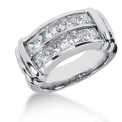 Platinum Ladies Diamond Ring 2.70ct Platinum Ladies Diamond Ring 2.70ct