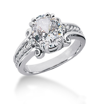 Platinum Ladies Diamond Ring 3.05ct Platinum Ladies Diamond Ring 3.05ct