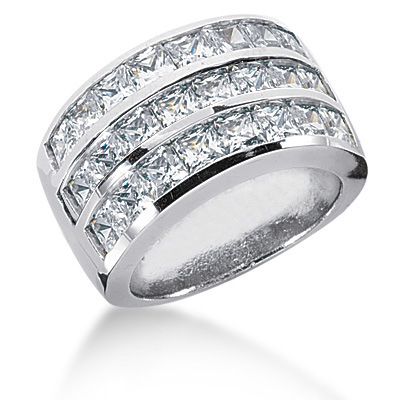Platinum Ladies Diamond Ring 4.43ct Platinum Ladies Diamond Ring 4.43ct