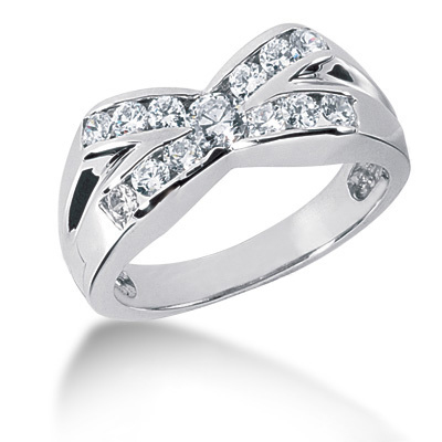 Platinum Men's Diamond Ring 1.21ct Main Image
