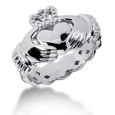 Platinum Men's Wedding Ring Main Image