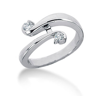 Platinum Right Hand Ladies Diamond Ring 0.20ct Platinum Right Hand Ladies Diamond Ring 0.20ct