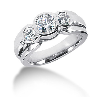 Platinum Round Diamond Ladies Ring 1.25ct Platinum Round Diamond Ladies Ring 1.25ct