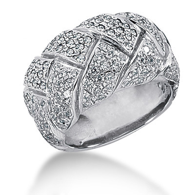 Platinum Round Diamond Ladies Ring 1.91ct Main Image