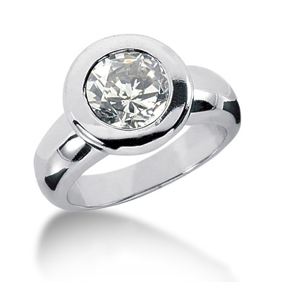 Platinum Round Diamond Ladies Ring 2.25ct Platinum Round Diamond Ladies Ring 2.25ct