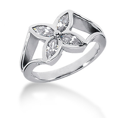 Platinum Women's Diamond Ring 0.60ct Platinum Women's Diamond Ring 0.60ct