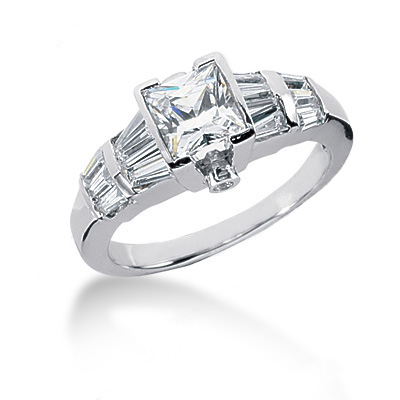 Platinum Women's Diamond Ring 1.82ct Platinum Women's Diamond Ring 1.82ct