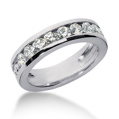 Platinum Women's Diamond Wedding Ring 1.35ct Platinum Women's Diamond Wedding Ring 1.35ct