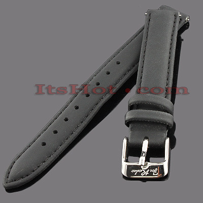 Polyurethane Watch Bands for Joe Rodeo Watches 14mm Black