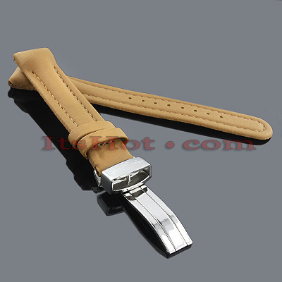 Polyurethane Watch Bands for Joe Rodeo Watches 16mm Camel Polyurethane Watch Bands for Joe Rodeo Watches 16mm Camel